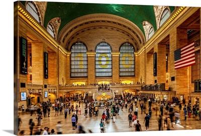 New York City, Manhattan, Grand Central Station, Interior