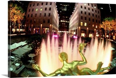 New York City, Manhattan, Rockfeller Center