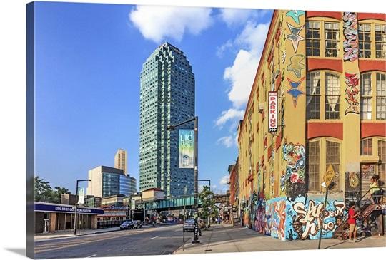 Long Island Wall Art new york, long island city, graffiti wall art, canvas prints