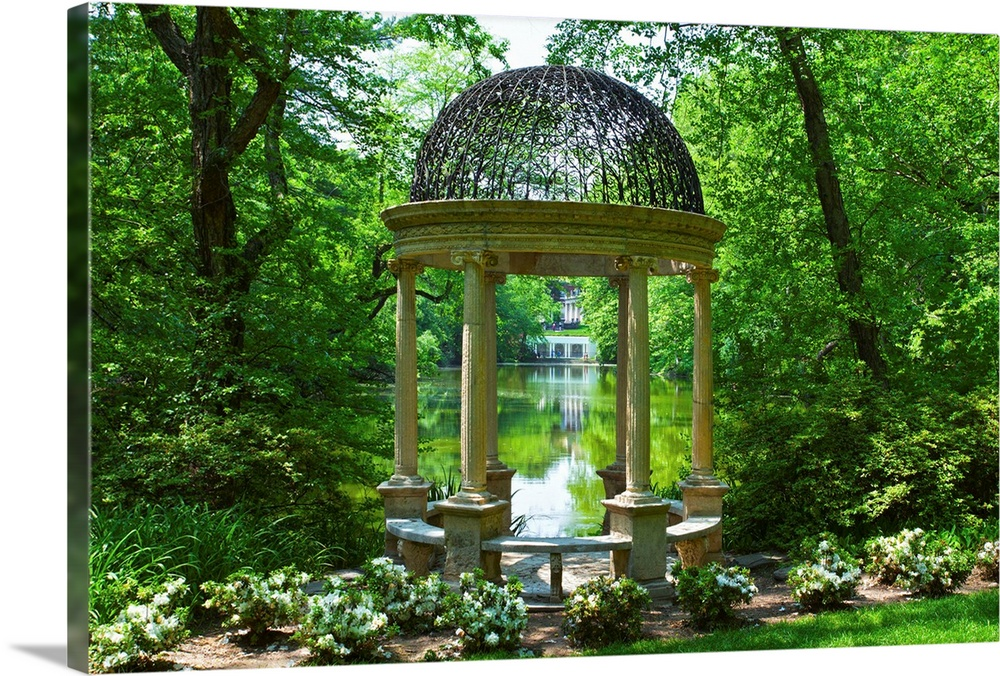 New York, Long Island, Old Westbury, Old Westbury Gardens, Temple Of Love