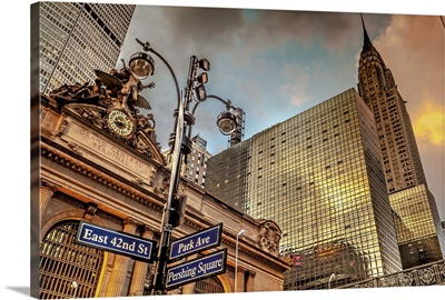 New York, New York City City, 42nd Street in front of Grand Central Terminal