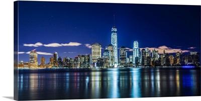 NYC, Manhattan, Lower Manhattan skyline