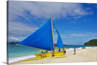 Philippines, Visayan islands, Pacific ocean, Boracay island, White Beach