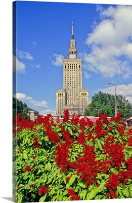 Poland, Mazowieckie, Warsaw, Palace of Culture and Science