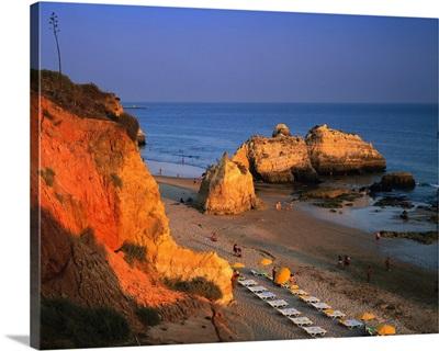Portugal, Algarve, Praia da Rocha, beach