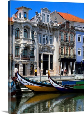 Portugal, Aveiro, typical boat