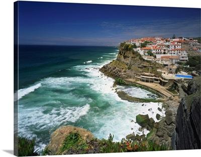 Portugal, Azenhas do Mar, Lisbon, Azenhas do Mar