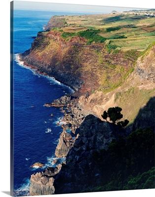 Portugal, Azores, Terceira, coastal scenery