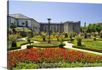 Portugal, Braga, Minho, Costa Verde, Jardim de Santa Barbara gardens
