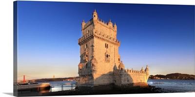 Portugal, Distrito de Lisboa, Lisbon, Belem, Belem Tower