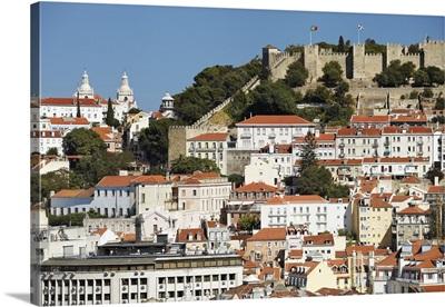 Portugal, Distrito de Lisboa, Lisbon, Castelo de Sao Jorge