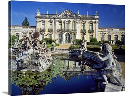 Portugal, Distrito de Lisboa, Queluz, Palacio Nacional de Queluz