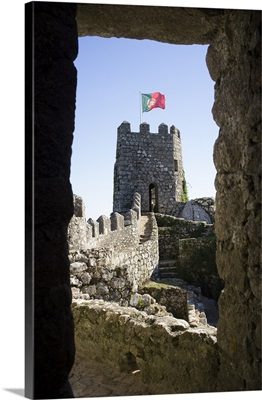 Portugal, Distrito de Lisboa, Sintra, Moorish castle