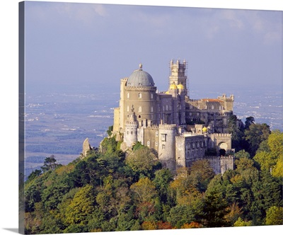 Portugal, Distrito de Lisboa, Sintra, Pena National Palace, Estremadura