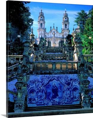 Portugal, Douro Valley, Lamego, Nostra Senhora dos Remedios