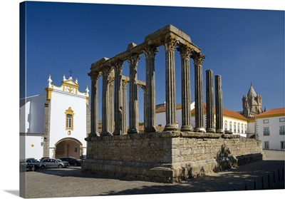 Portugal, Evora, Alentejo, evora, the roman temple to Diana