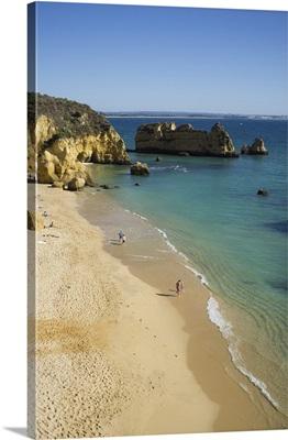 Portugal, Faro, Algarve, Lagos, Dona Ana beach, Algarve, Portugal