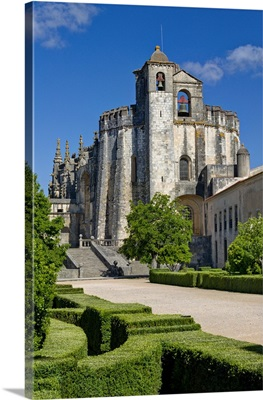 Portugal, Knights Templar, Convento de Cristo convent entrance