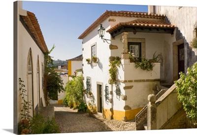 Portugal, Leiria, Estremadura, obidos, Costa da Prata, the medieval walled town
