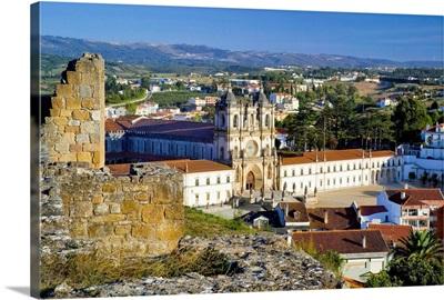 Portugal, Leiria, Monastery of Santa Maria de Alcobaca