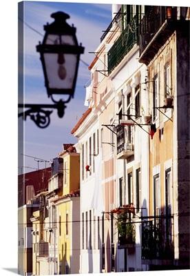 Portugal, Lisbon, Bairro Alto, Typical houses