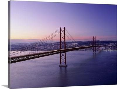 Portugal, Lisbon, Ponte 25 de Abril