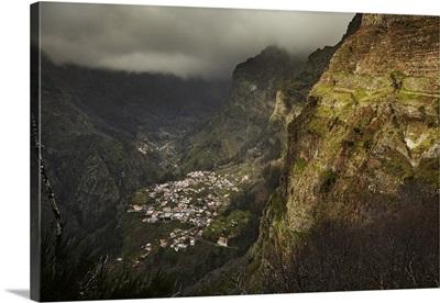 Portugal, Madeira, Curral Das Freiras, Nuns Valley