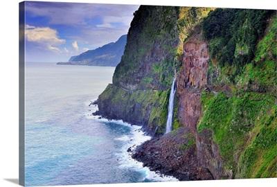 Portugal, Madeira, Madeira island, Atlantic ocean, North coast