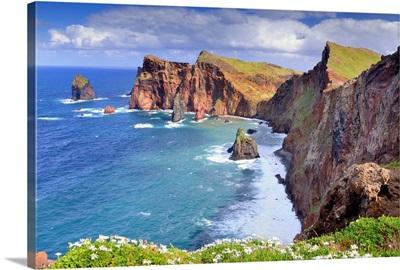Portugal, Madeira, Madeira island, Atlantic ocean, Ponta de Sao Lourenco peninsula