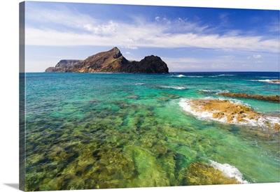 Portugal, Madeira, Porto Santo Island, Ponta da Calheta