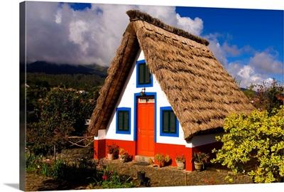 Portugal, Madeira, Santana, Typical architecture