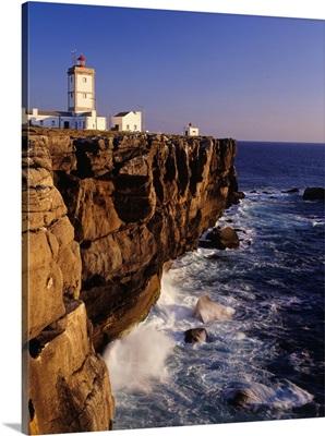 Portugal, Peniche, Cabo Carvoeiro, lighthouse