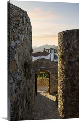 Portugal, Portalegre, Alentejo, Marvao, castle and museum (formally church)