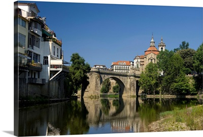 Portugal, Porto, Douro region, Amarante, on the Tamega river
