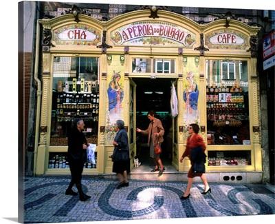 Portugal, Porto, Historical center, typical shop