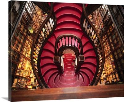 Portugal, Porto, Library Lello and Irmao