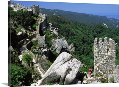 Portugal, Sintra, Castelo dos Mouros
