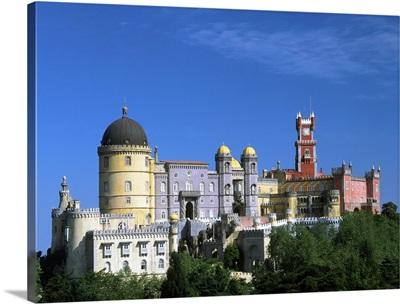 Portugal, Sintra, Palacio da Pena