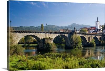 Portugal, Viana do Castelo, Costa Verde, the mediaeval bridge