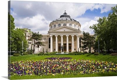 Romania, Bucharest, Romanian Athenaeum (Ateneul Roman)