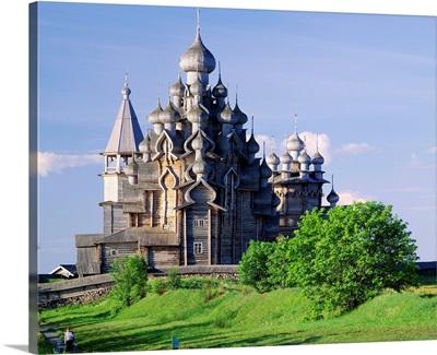 Russia, Kizhi Island, Transfiguration Cathedral