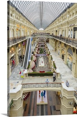 Russia, Moscow Oblast, Moscow, Gum Shopping Center, interior