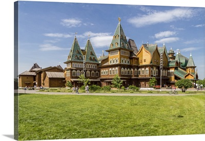 Russia, Moscow Oblast, Moscow, The wooden palace, Kolomenskoye