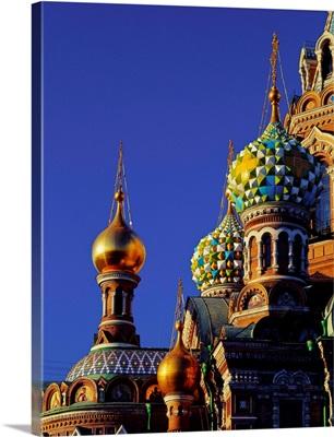Russia, Saint Petersburg, Church of Christ Resurrection