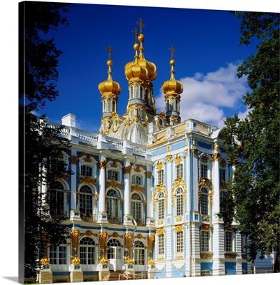 Russia, Saint Petersburg, (Leningrad), Catherine Palace in Pushkin