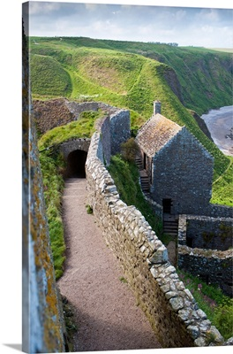 Scotland, Aberdeenshire, Stonehaven, Dunottar Castle