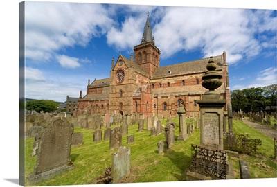 Scotland, Orkney islands, Kirkwall, St Magnus Cathedral