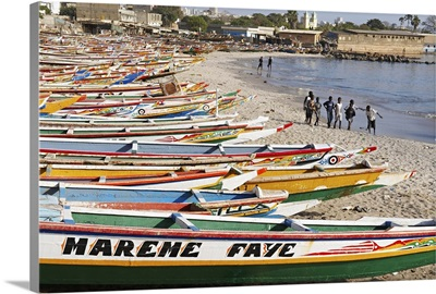 Senegal, Dakar, N'Gor beach