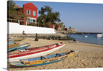 Senegal, Dakar, The island of Goree was a traditional slaving and trading port