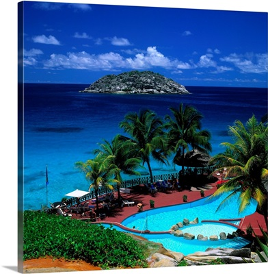 Seychelles, Mahe, Grand Anse, Equator Grand Anse Residence Hotel
